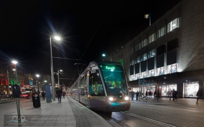 The Luas Green Line Extension Photographs