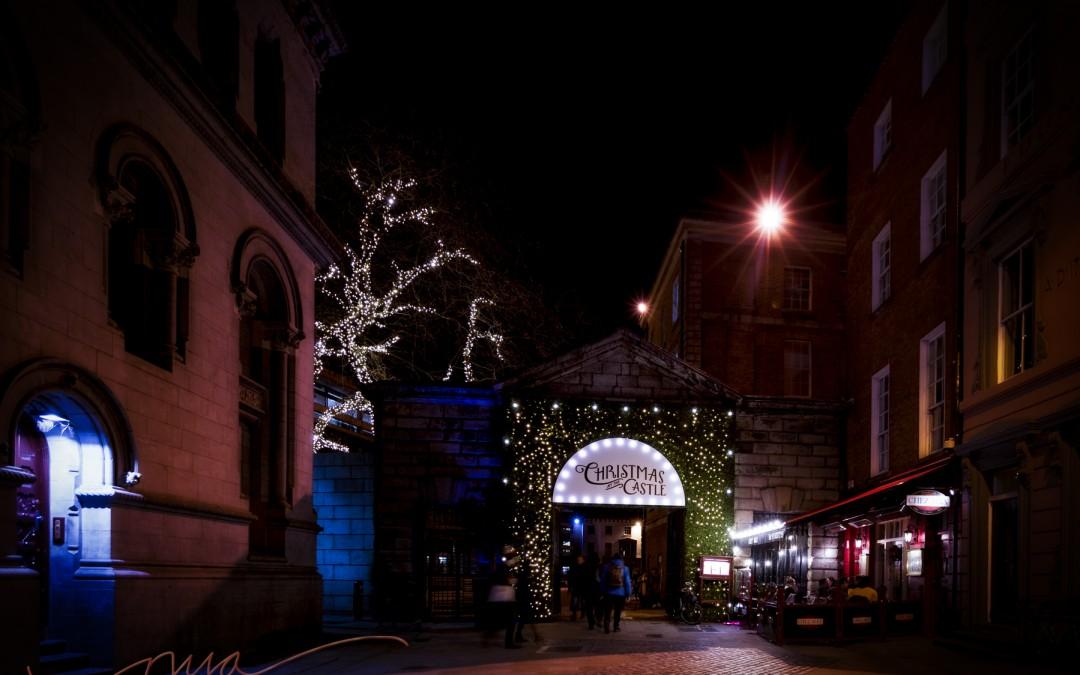 Dublin City at Christmas