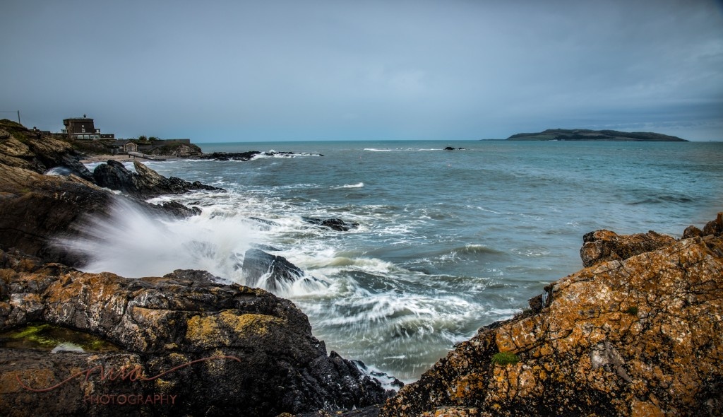 Looking out from the Donabate and portrane cliff path
