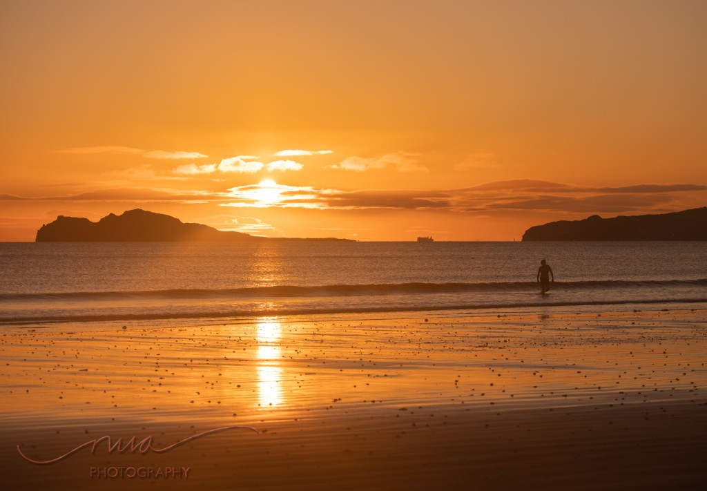 Sunrise on Velvet strand Portmarnock